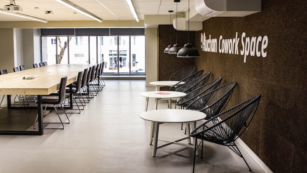 French Supermarket Group Opens Free New Co Work Space