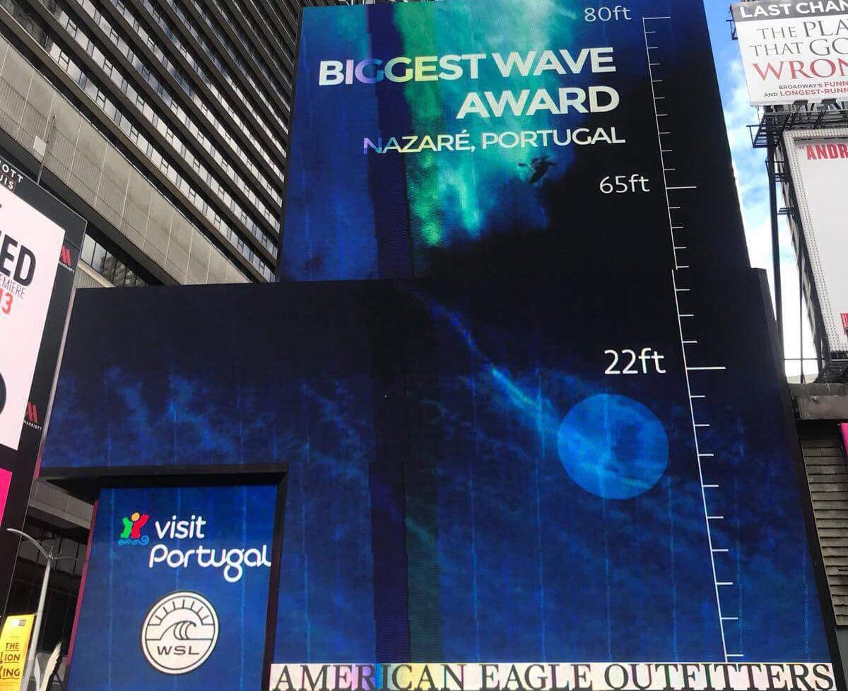 Portuguese tourist bureau invests u ac in times square advert
