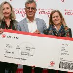 Air Canada celebrates relaunch of Montreal Rouge service